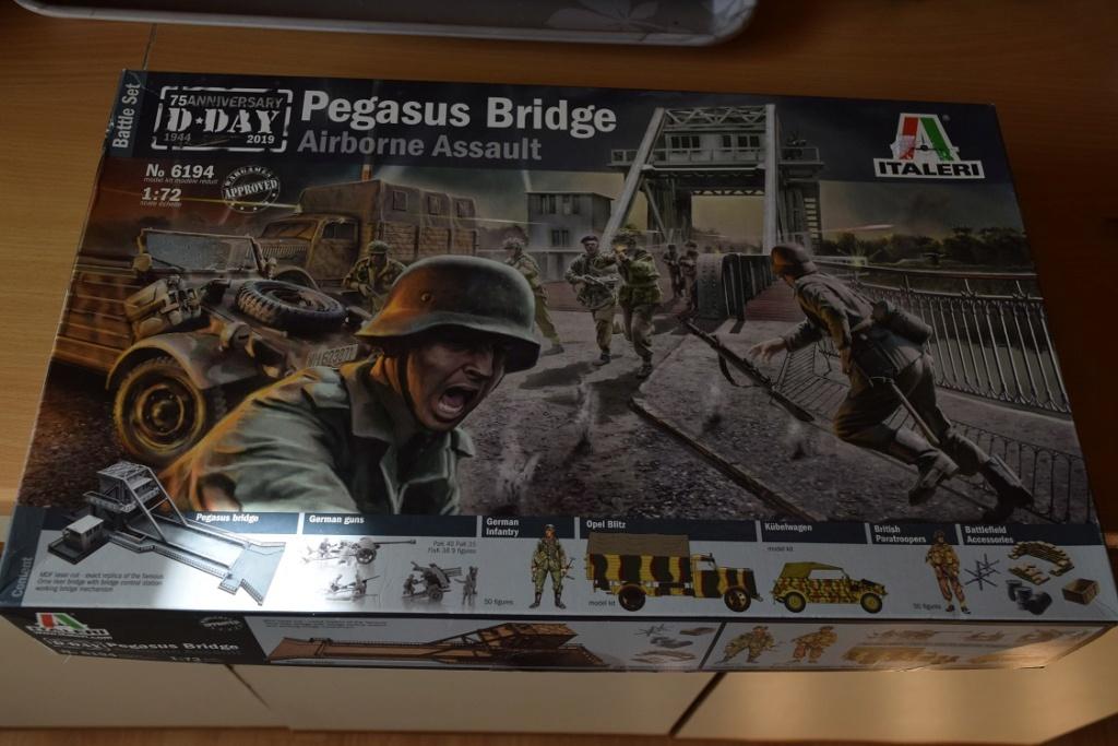 « PEGASUS BRIDGE au 1/72 » ITALERI -   [ FINI ] 214