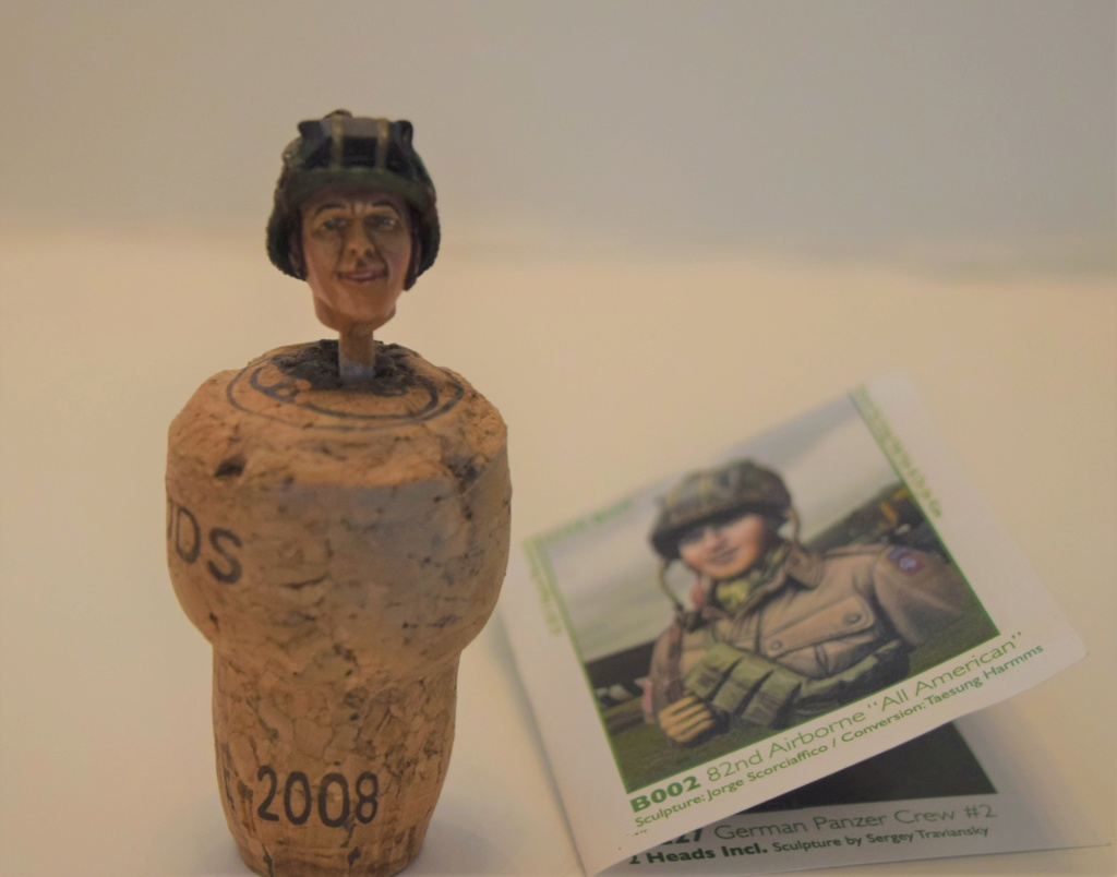 "US Army 82 Airborne """" All american "" - buste  1/16 de chez ALPINE FIGURINES .[ Terminé ] Dsc_0182"