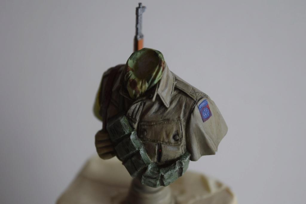 "US Army 82 Airborne """" All american "" - buste  1/16 de chez ALPINE FIGURINES .[ Terminé ] Dsc_0187"