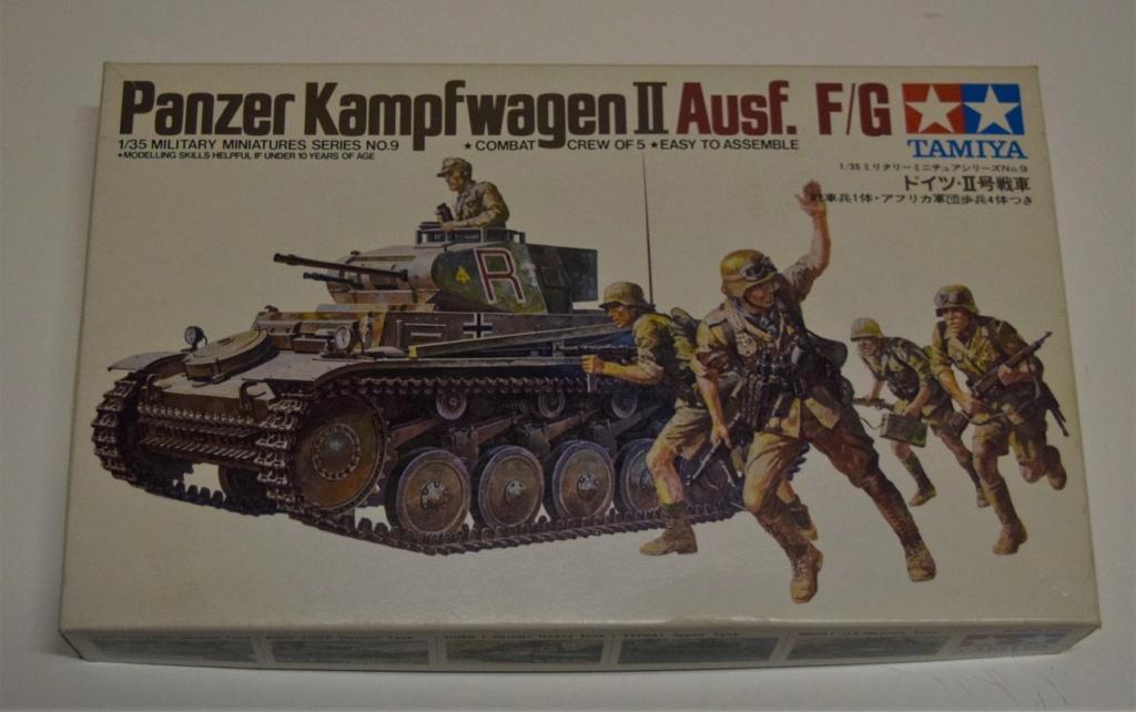 Fil rouge 2021 * Panzer Kampfwagen II Ausf. F/ G au 1/35 - TAMIYA - 1971 - *** Terminé en pg 3 Dsc_0308