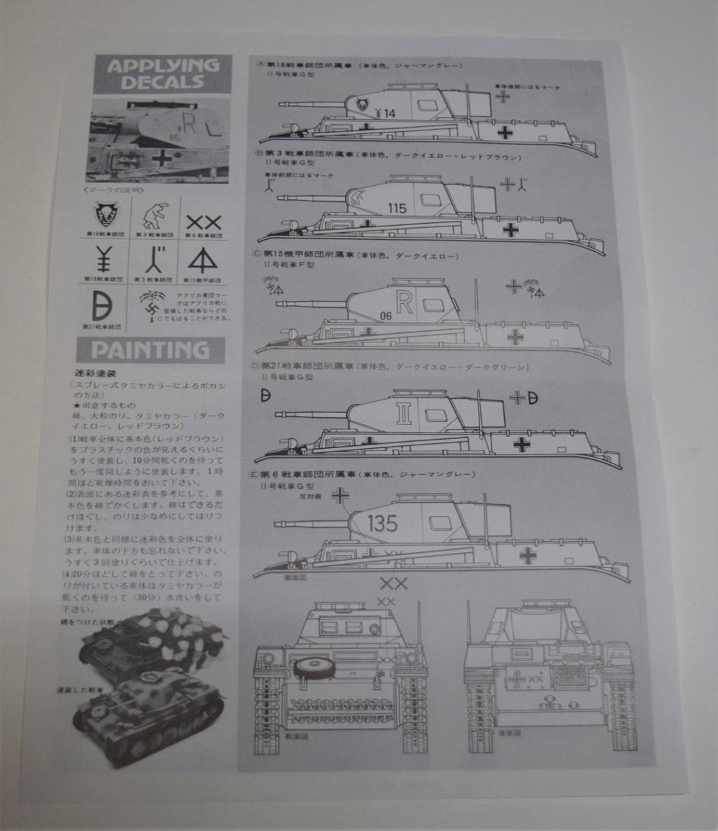Fil rouge 2021 * Panzer Kampfwagen II Ausf. F/ G au 1/35 - TAMIYA - 1971 - *** Terminé en pg 3 Dsc_0323