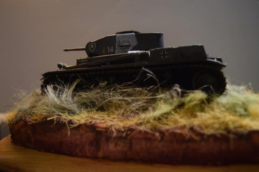 Fil rouge 2021 * Panzer Kampfwagen II Ausf. F/ G au 1/35 - TAMIYA - 1971 - *** Terminé en pg 3 - Page 3 Dsc_0386