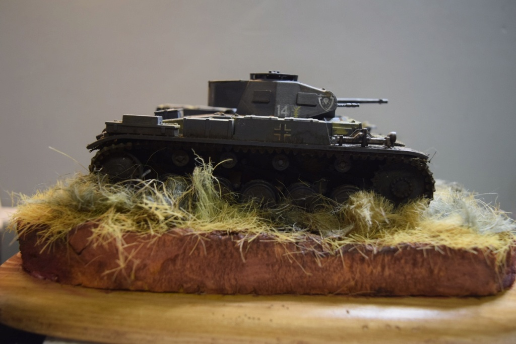 Fil rouge 2021 * Panzer Kampfwagen II Ausf. F/ G au 1/35 - TAMIYA - 1971 - *** Terminé en pg 3 - Page 3 Dsc_0391