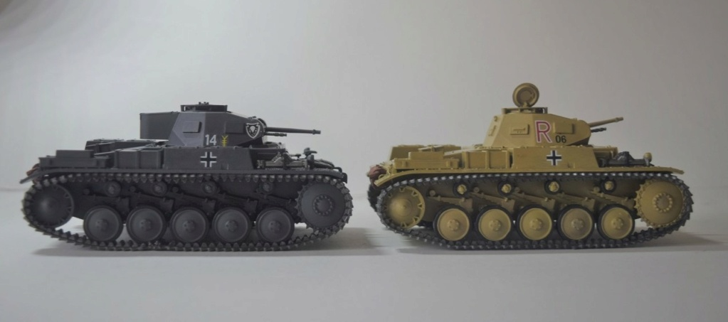 Fil rouge 2021 * Panzer Kampfwagen II Ausf. F/ G au 1/35 - TAMIYA - 1971 - - Page 2 Fr2110