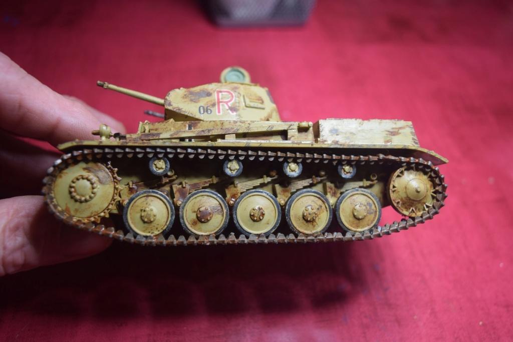 Fil rouge 2021 * Panzer Kampfwagen II Ausf. F/ G au 1/35 - TAMIYA - 1971 - *** Terminé en pg 3 - Page 3 Fr2910