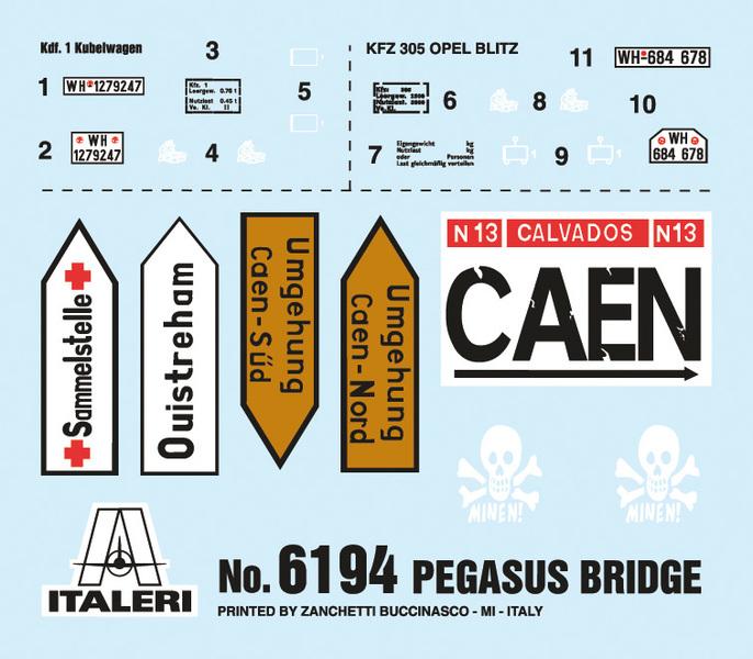 « PEGASUS BRIDGE au 1/72 » ITALERI -   [ FINI ] Rae85c10
