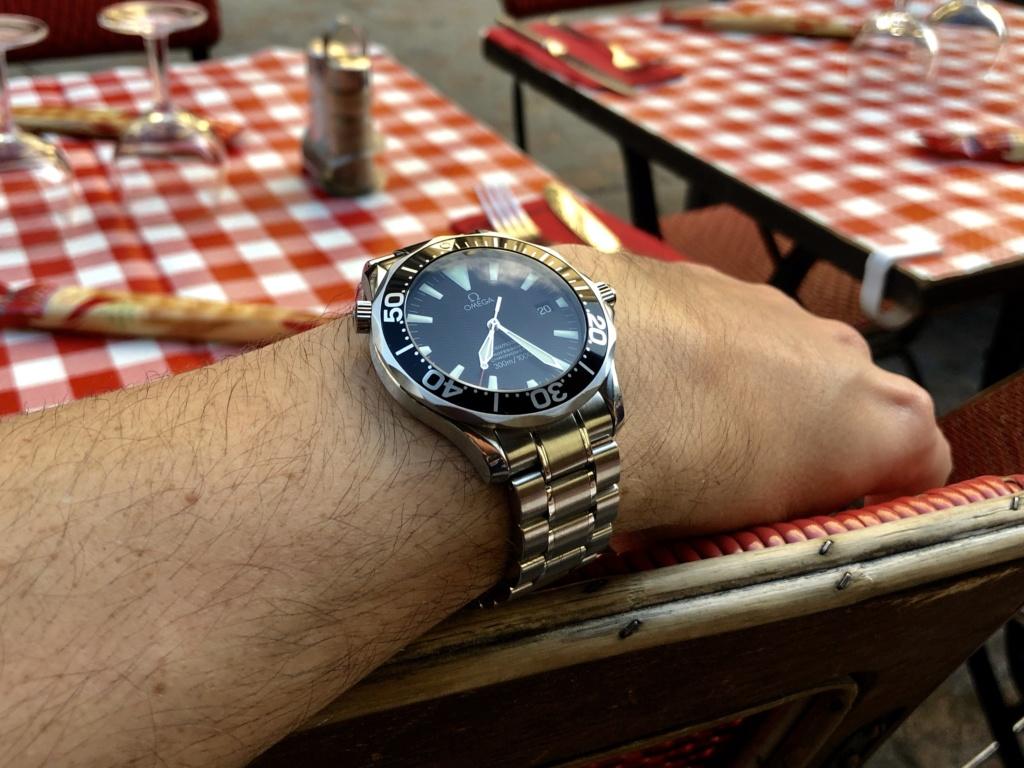 seamaster - [Vendu][Baisse de prix] Omega Seamaster Peter Blake  Img_3310