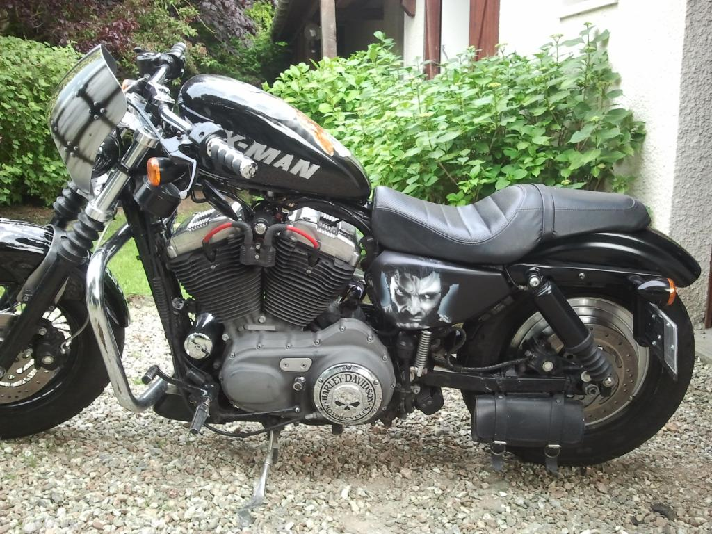 Mon sportster 1200R injection de 2007 - Page 2 20130612