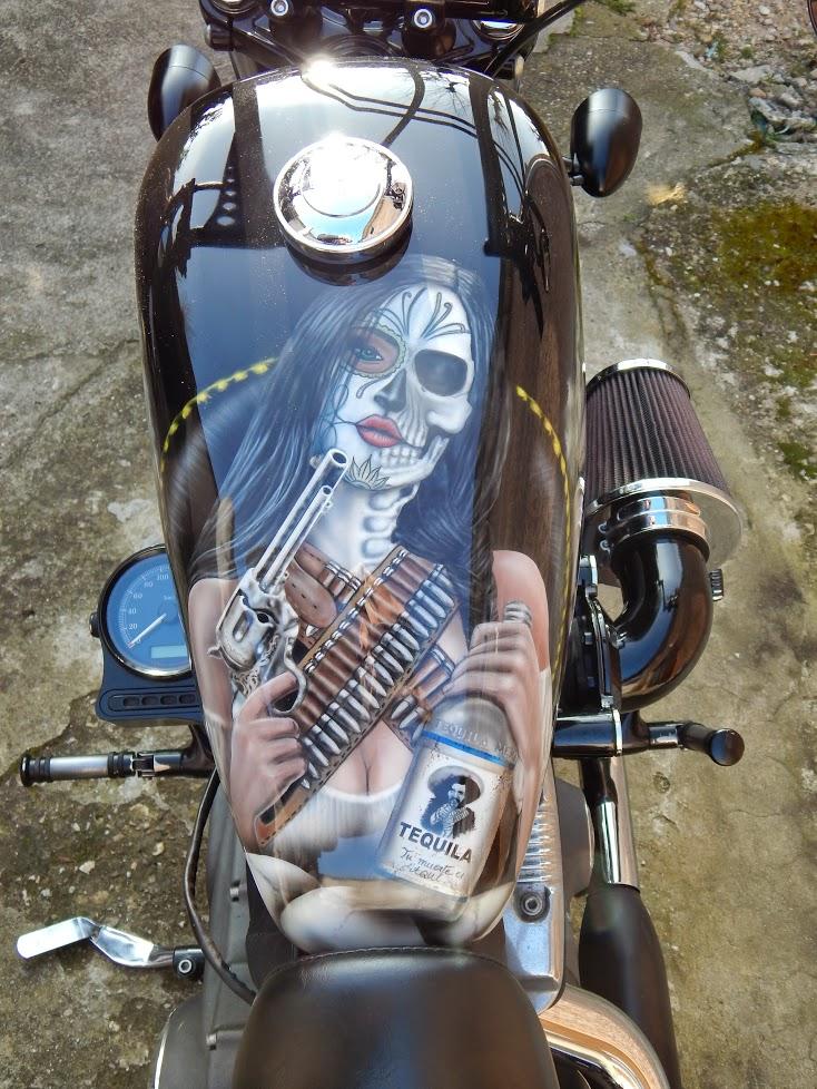 Harley Davidson 1200 Forty Eight d'Azerty59400 Dscn0410