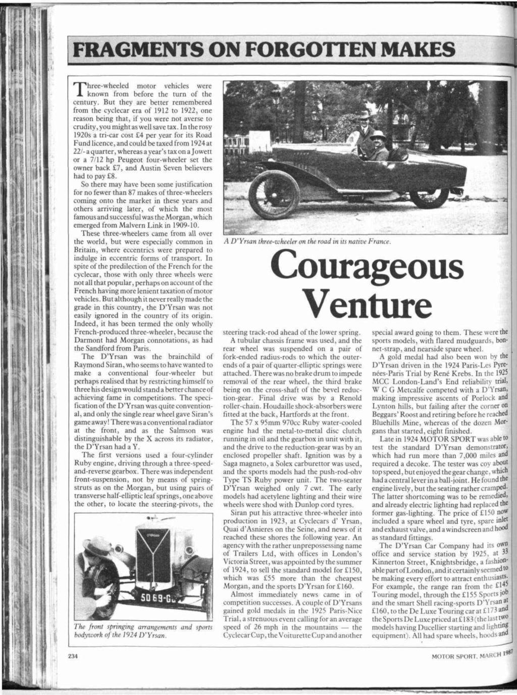 D'Yrsan tricyclecar - Page 2 6e258510