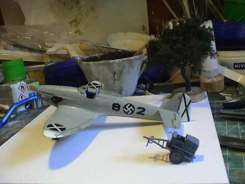 [Concours 2019 - 1] - [Heller] Heinkel He 112 V9 H3210