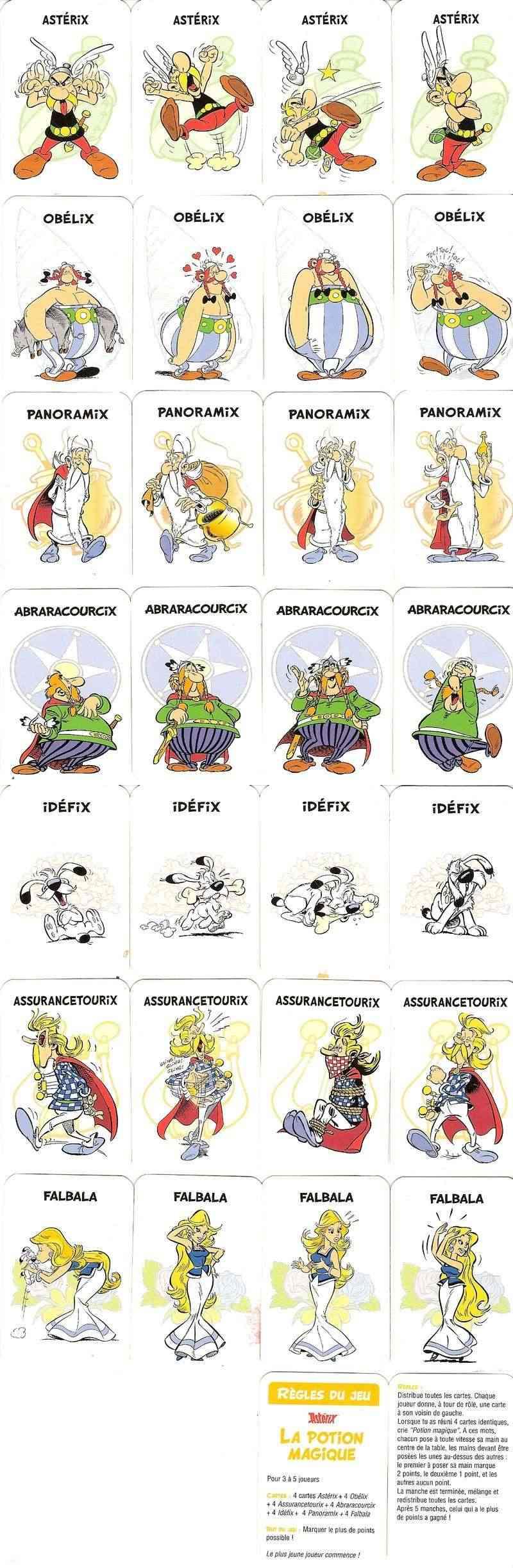 Kellogg's _ mini-jeux de cartes 2006 Potion10