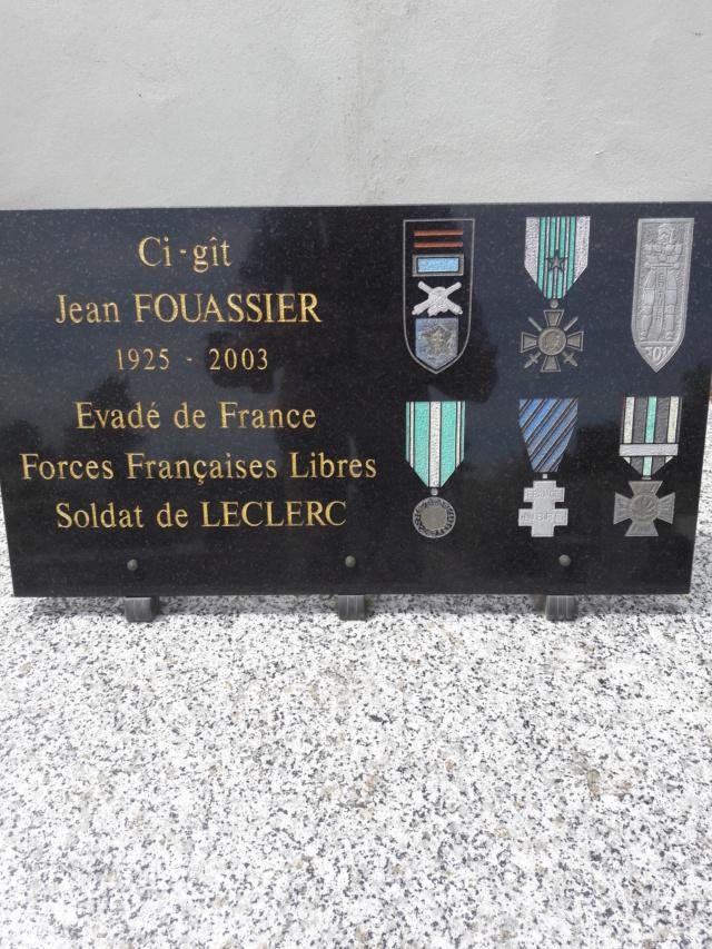 Jean Fouassier: pierre tombale 20190510