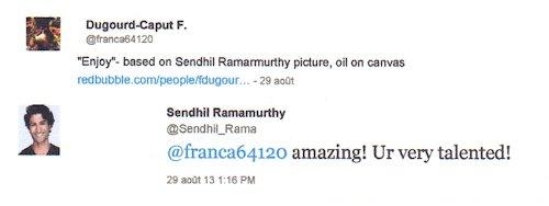 Portraits et réaction des modèles  Sendhi10