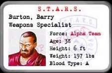 Resident Evil 1 (Ps1) Barry10