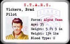 Resident Evil 1 (Ps1) Brad10