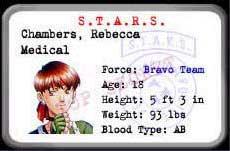 Resident Evil 1 (Ps1) Rebecc10