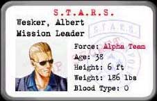 Resident Evil 1 (Ps1) Wesker10