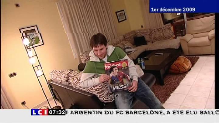 Lionel MESSI, ..Ballon d'Or 2009 A19