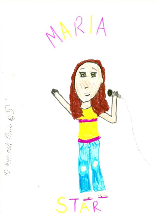 My drawings hehe Maria_10
