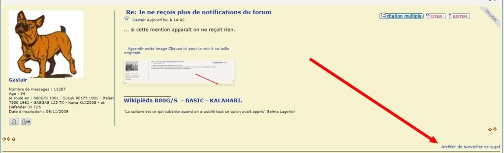 Je ne reçois plus de notifications du forum Sans_t88