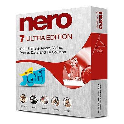 برنامج NERO 7 LITE 7.11.10.0 BUILD 1.20.2.1 70710