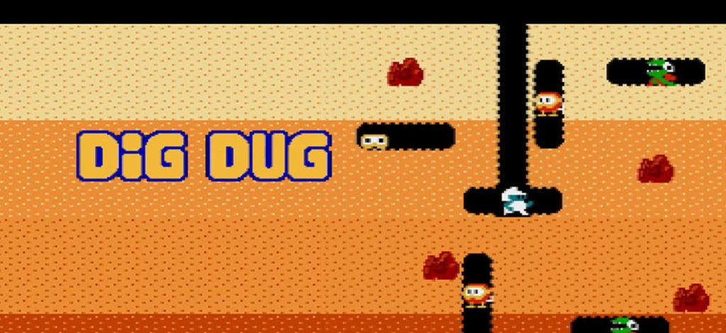 تحميل لعبة Dig Dug Review Gra-di10