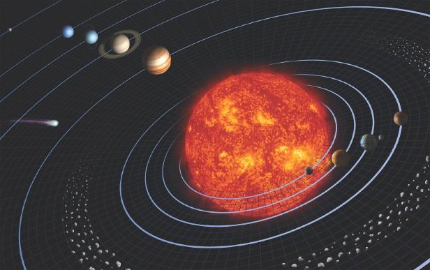 ما الذي يحافظ على دوران الشمس؟ Solar_10