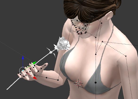 [Blender] Sims 3 - Création de pose avec accessoire Captur10