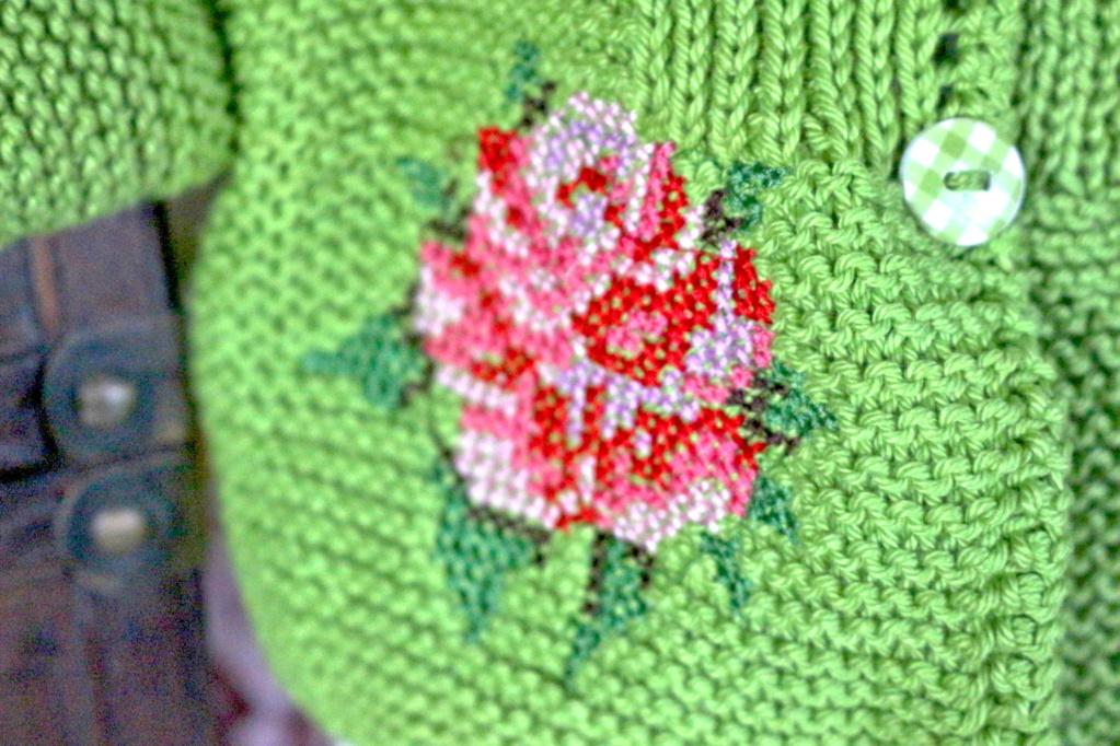 Röschen im Grünen Rose210