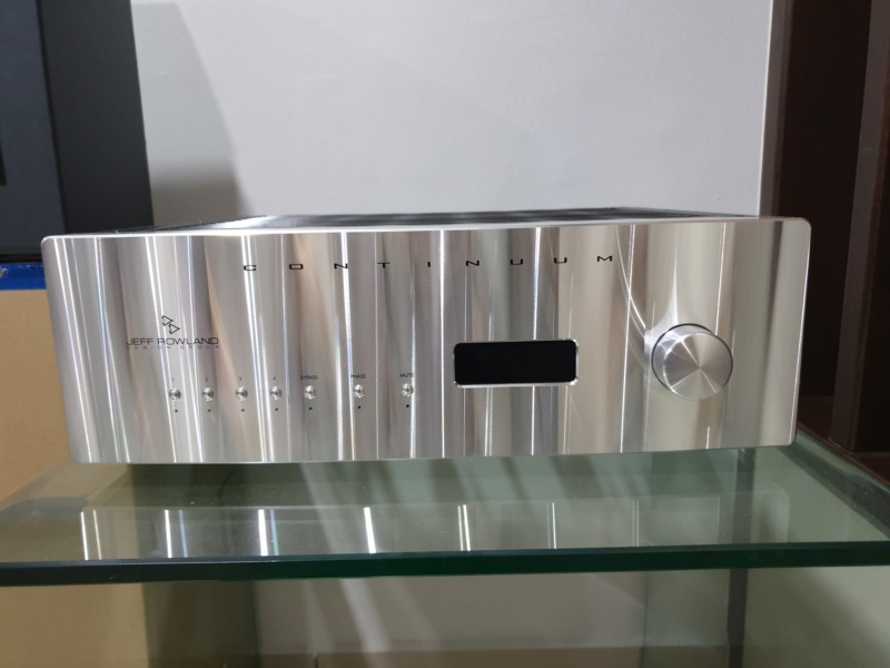 Jeff Rowland Continuum 500 Integrated Amplifier (Used) 2019-018