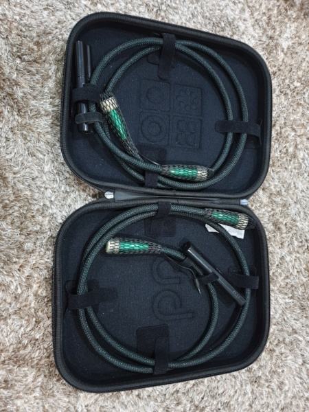 AudioQuest Earth Interconnect Balanced XLR 72v DBS 1.5m(Used) 2020-011