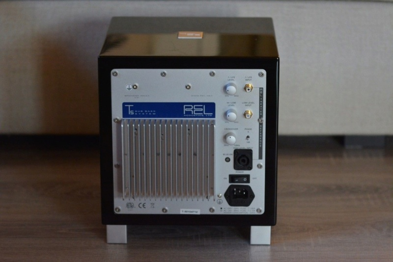 REL T5 Active Subwoofer (Used)(Sold) & REL Bassline Blue HI-Level Cable(6M)(Used)(Sold) 262_1411