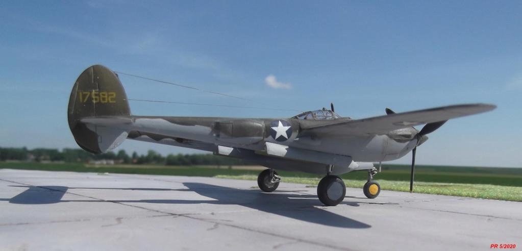 1/72 AIRFIX LIGHTING P38F Arrier10