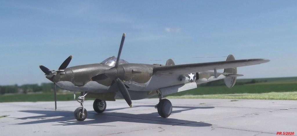 1/72 AIRFIX LIGHTING P38F Avantg10