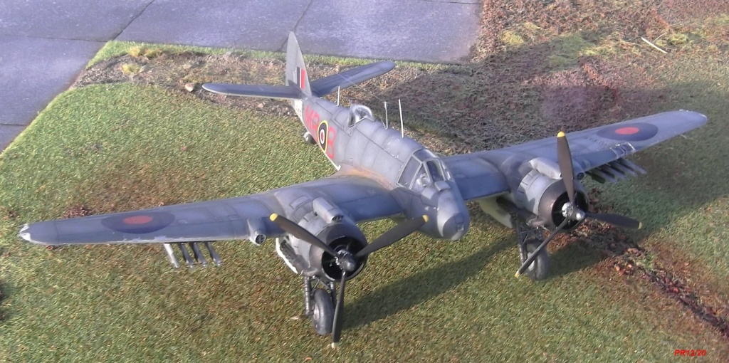BRISTOL BEAUFIGHTER AIRFIX 1/72 Beauf013