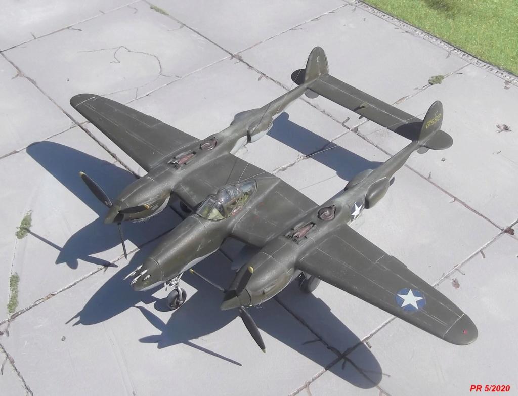 1/72 AIRFIX LIGHTING P38F Dessus10