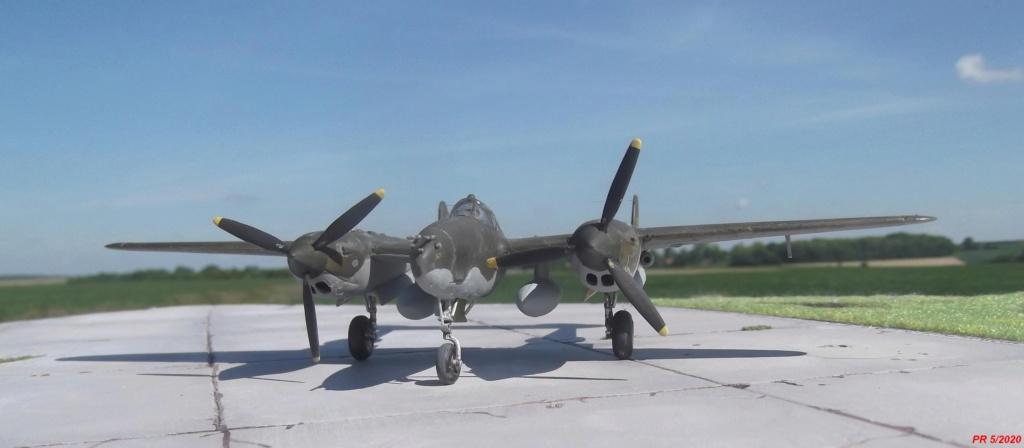 1/72 AIRFIX LIGHTING P38F Devant10