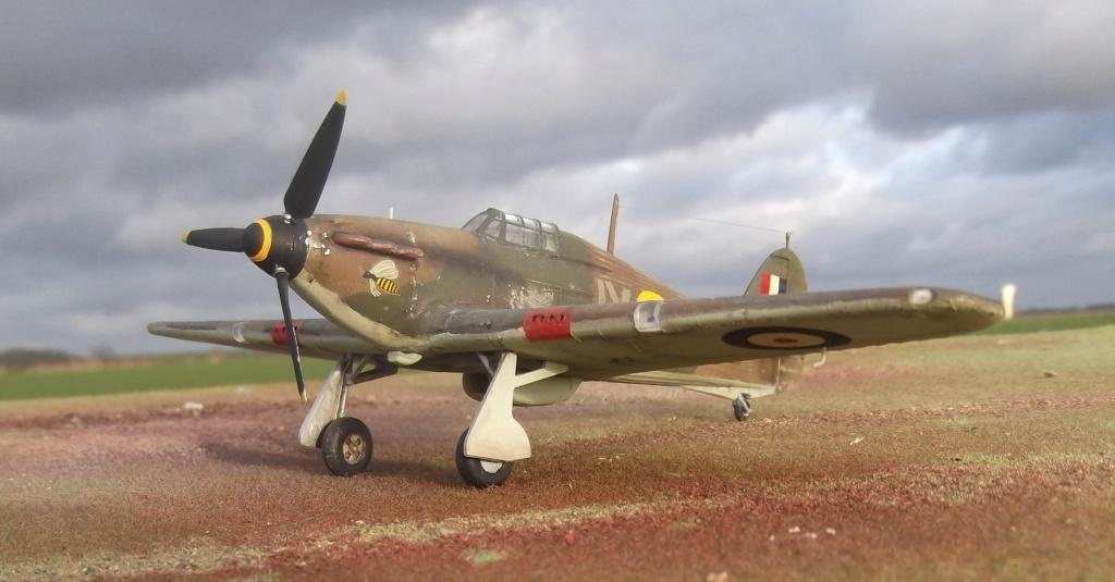 Hawker Hurricane le veil Airfix de 1978 Hh0510