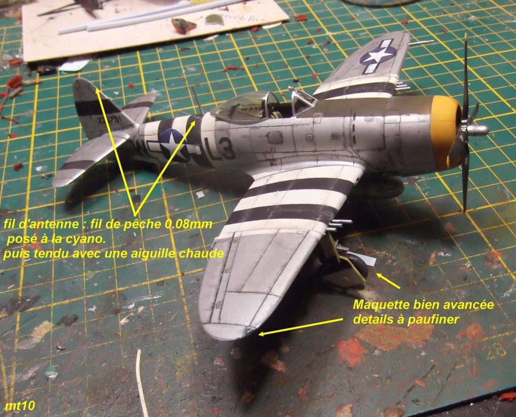 Academy 1/72 Thunderbolt P47 D27 P47_mo16