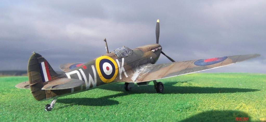Spitfire mk I Airfix 1/72 Sptair11