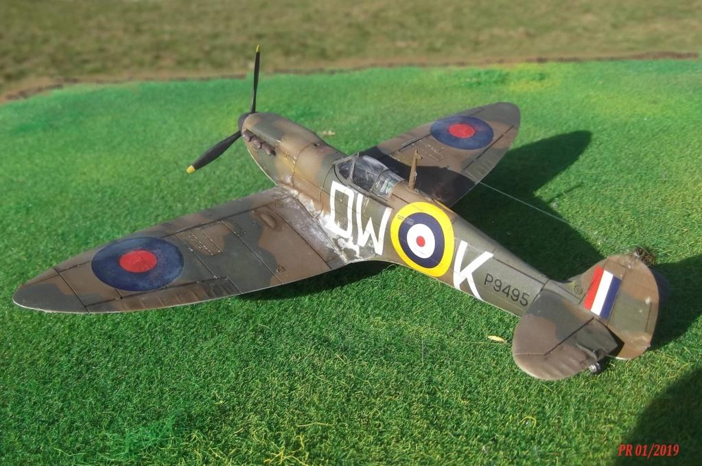 Spitfire mk I Airfix 1/72 Sptair14