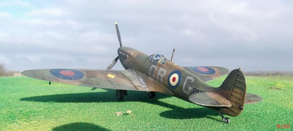 Spitfire mkI Tamiya 1/72 Spttam10