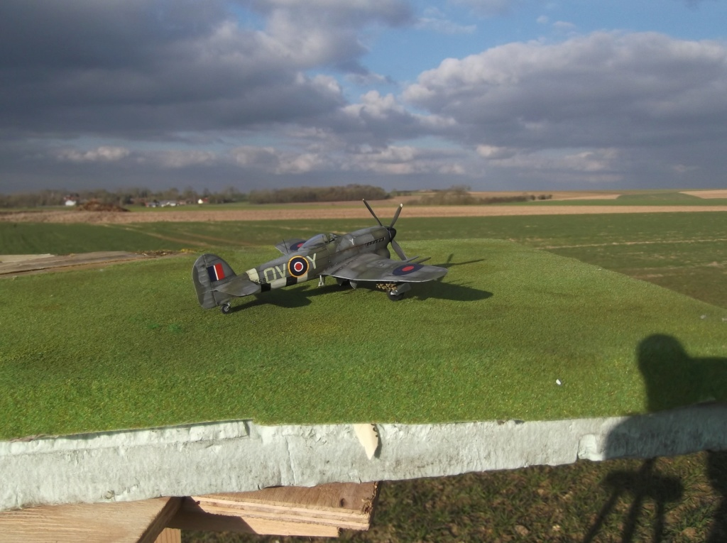 Hawker typhoon Airfix 1/72 Travai10