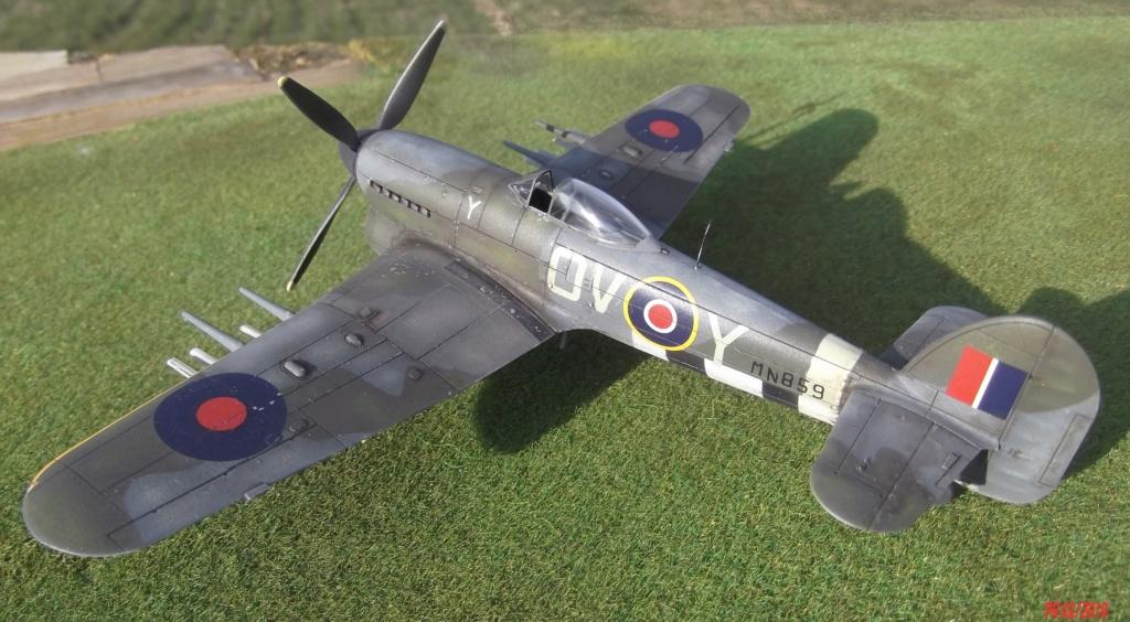 Hawker typhoon Airfix 1/72 Tyairf14
