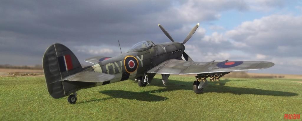 Hawker typhoon Airfix 1/72 Tyairf16