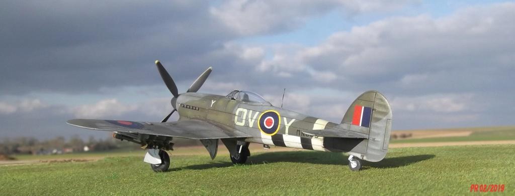 Hawker typhoon Airfix 1/72 Tyairf17