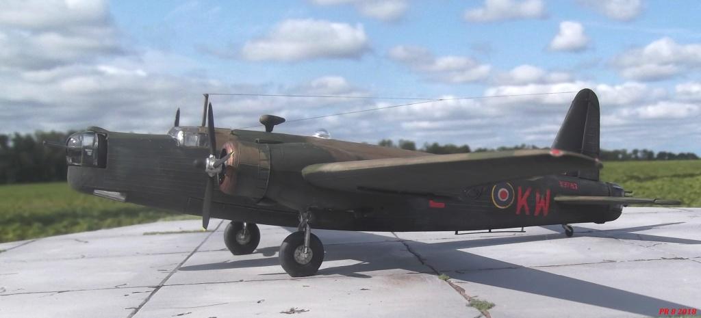 Vickers Wellington Airfix 1/72 vieux modèle  Well0110