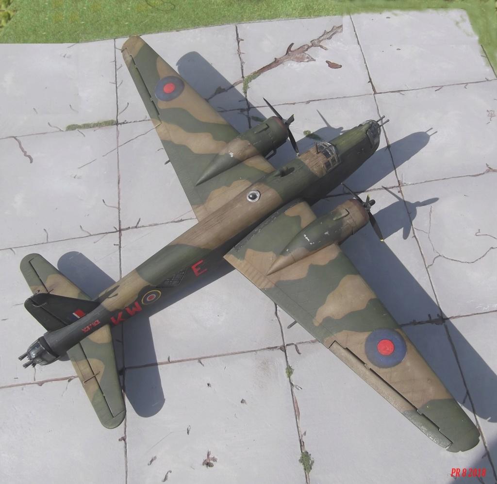 Vickers Wellington Airfix 1/72 vieux modèle  Well1010