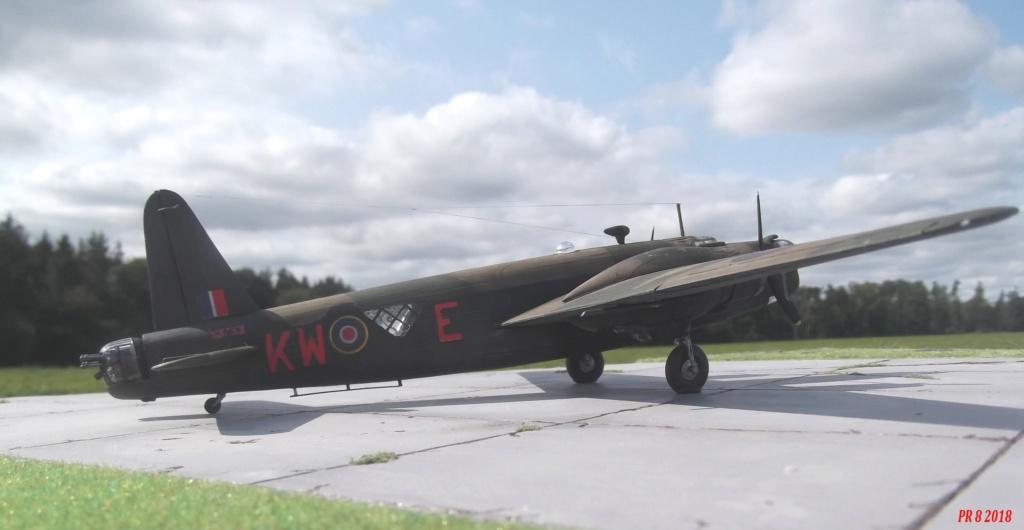 Vickers Wellington Airfix 1/72 vieux modèle  Well3010